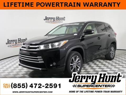 2018 Toyota Highlander for sale at Jerry Hunt Supercenter in Lexington NC
