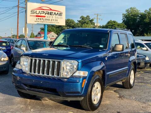 2009 Jeep Liberty for sale at Supreme Auto Sales in Chesapeake VA
