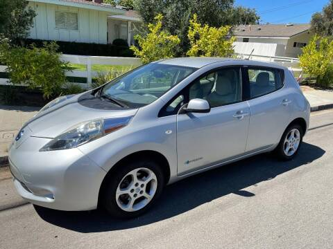 2012 Nissan LEAF for sale at PACIFIC AUTOMOBILE in Costa Mesa CA
