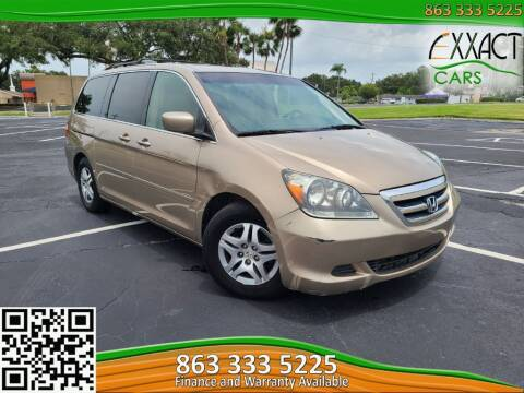2006 Honda Odyssey for sale at Exxact Cars in Lakeland FL