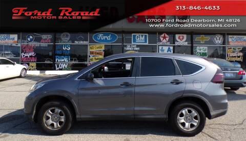 2016 Honda CR-V for sale at Ford Road Motor Sales in Dearborn MI