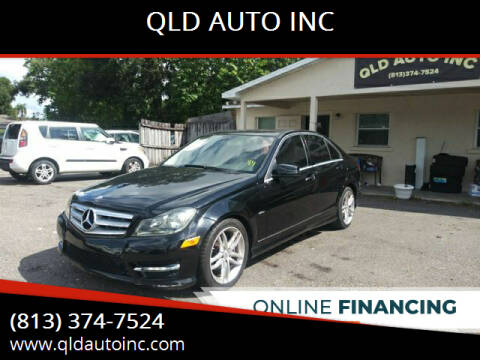 2012 Mercedes-Benz C-Class for sale at QLD AUTO INC in Tampa FL