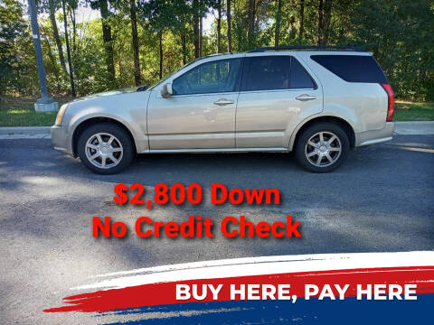 2005 Cadillac SRX for sale at BP Auto Finders in Durham NC