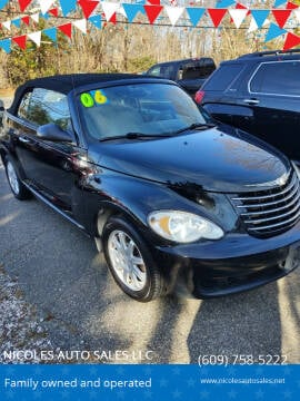 2006 Chrysler PT Cruiser for sale at NICOLES AUTO SALES LLC in Cream Ridge NJ