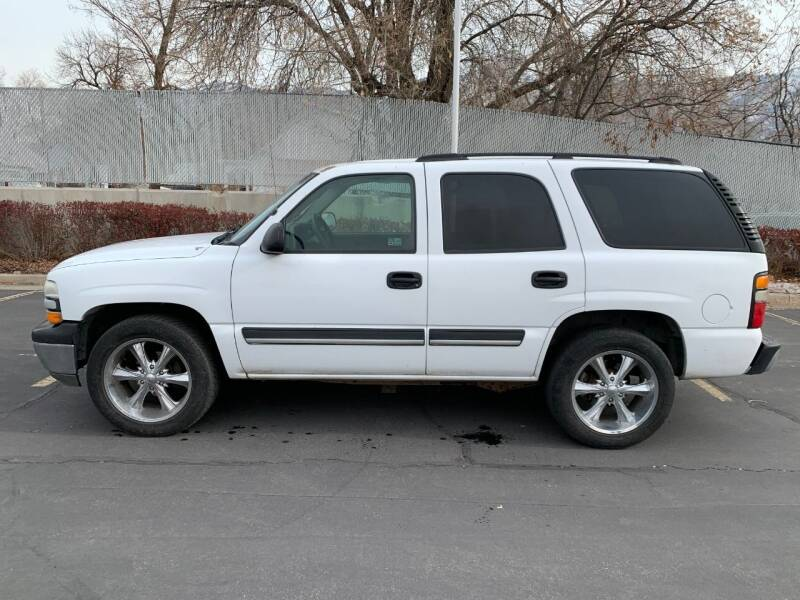 2005 Chevrolet Tahoe for sale at BITTON'S AUTO SALES in Ogden UT