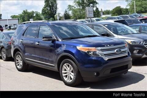 2011 Ford Explorer for sale at BOB ROHRMAN FORT WAYNE TOYOTA in Fort Wayne IN