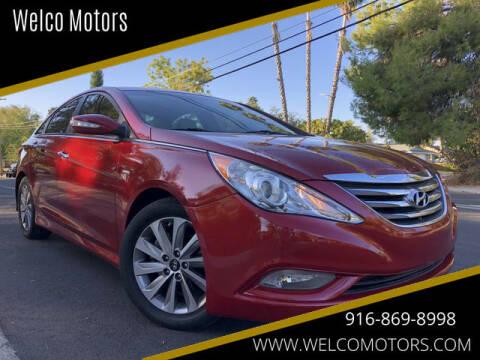 2014 Hyundai Sonata for sale at Welco Motors in Rancho Cordova CA