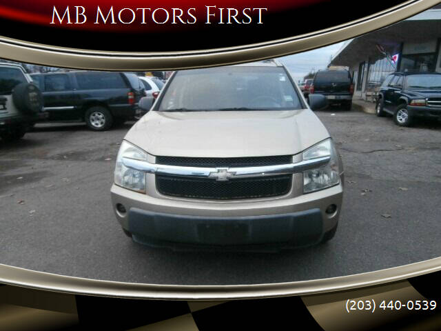 2005 Chevrolet Equinox for sale at MB Motors First in Meriden CT
