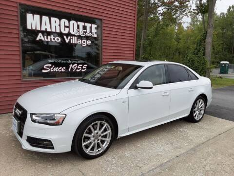 2015 Audi A4 for sale at Marcotte & Sons Auto Village in North Ferrisburgh VT