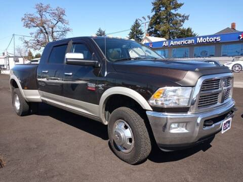 2010 Dodge Ram Pickup 3500 for sale at All American Motors in Tacoma WA