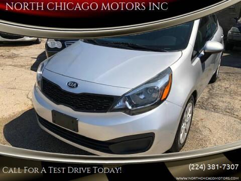 2015 Kia Rio for sale at NORTH CHICAGO MOTORS INC in North Chicago IL