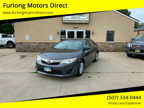 2012 Toyota Camry for sale at Furlong Motors Direct in Faribault MN