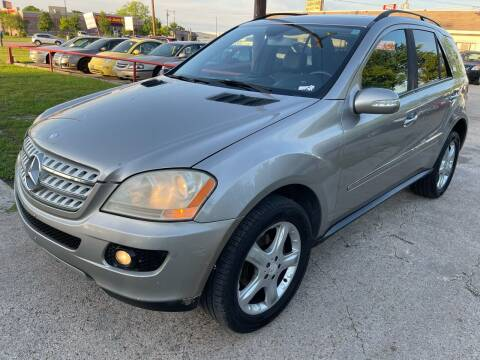 2008 Mercedes-Benz M-Class for sale at Cash Car Outlet in Mckinney TX