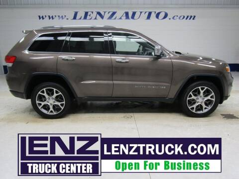 2019 Jeep Grand Cherokee for sale at LENZ TRUCK CENTER in Fond Du Lac WI