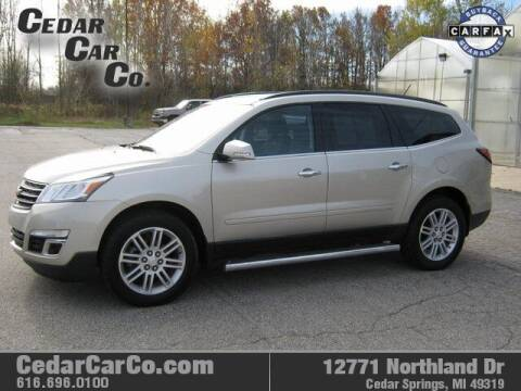 2014 Chevrolet Traverse for sale at Cedar Car Co in Cedar Springs MI