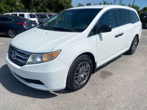2013 Honda Odyssey for sale at Jamrock Auto Sales of Panama City in Panama City FL