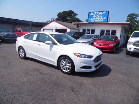 2016 Ford Fusion for sale at Surfside Auto Company in Norfolk VA