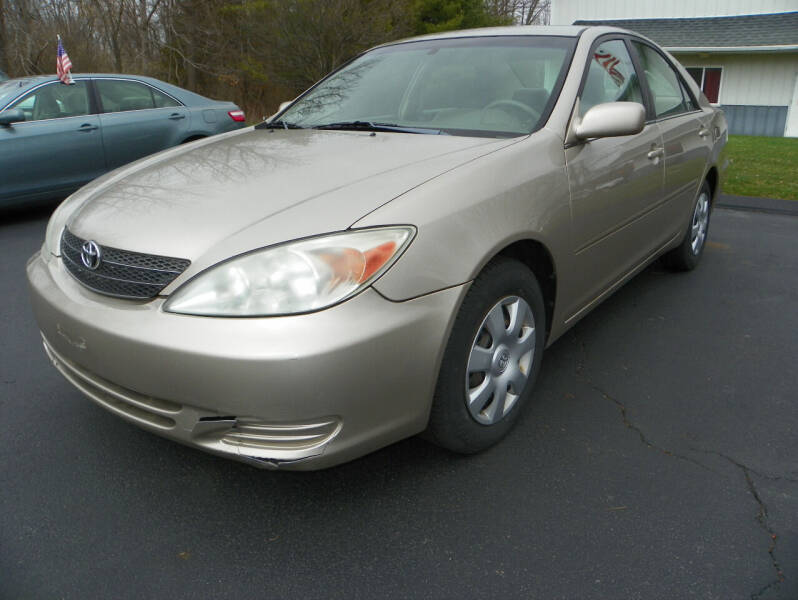 2004 Toyota Camry for sale at Ed Davis LTD in Poughquag NY