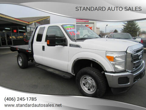 2012 Ford F-350 Super Duty for sale at Standard Auto Sales in Billings MT