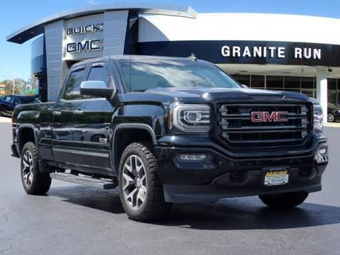 2016 GMC Sierra 1500 for sale at GRANITE RUN PRE OWNED CAR AND TRUCK OUTLET in Media PA