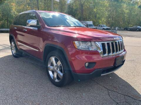 2012 Jeep Grand Cherokee for sale at George Strus Motors Inc. in Newfoundland NJ
