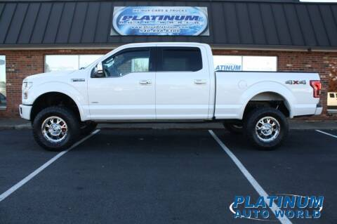 2015 Ford F-150 for sale at Platinum Auto World in Fredericksburg VA
