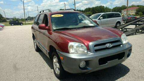 2005 Hyundai Santa Fe for sale at Kelly & Kelly Supermarket of Cars in Fayetteville NC