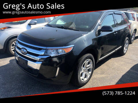 2013 Ford Edge for sale at Greg's Auto Sales in Poplar Bluff MO