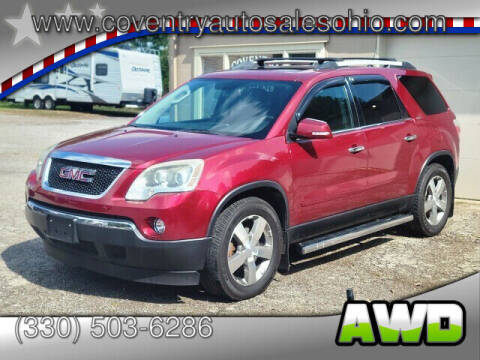 2011 GMC Acadia for sale at Coventry Auto Sales in Youngstown OH