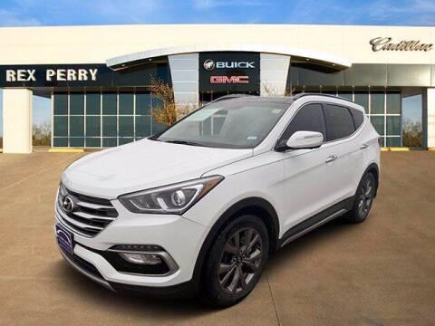 2018 Hyundai Santa Fe Sport for sale at AutoJacksTX.com in Nacogdoches TX