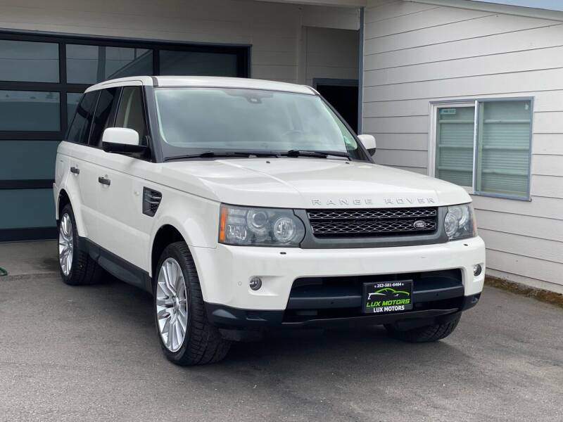 2010 Land Rover Range Rover Sport for sale at Lux Motors in Tacoma WA