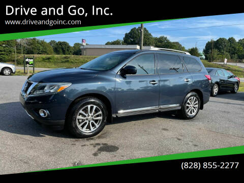 2013 Nissan Pathfinder for sale at Drive and Go, Inc. in Hickory NC