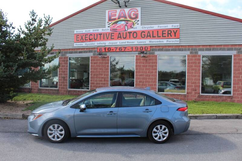 2020 Toyota Corolla for sale at EXECUTIVE AUTO GALLERY INC in Walnutport PA