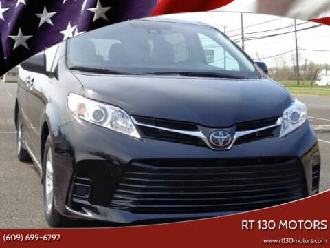 2020 Toyota Sienna for sale at RT 130 Motors in Burlington NJ