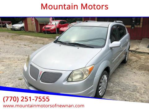 2005 Pontiac Vibe for sale at Mountain Motors in Newnan GA