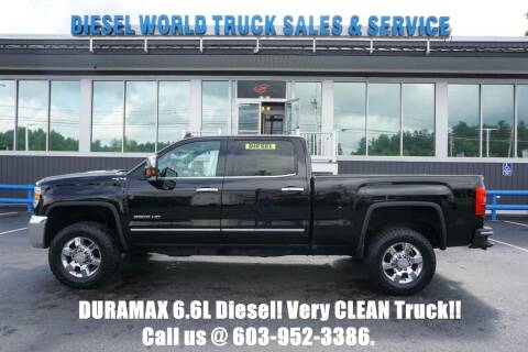 2016 GMC Sierra 3500HD for sale at Diesel World Truck Sales in Plaistow NH