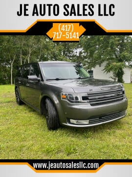 2016 Ford Flex for sale at JE AUTO SALES LLC in Webb City MO