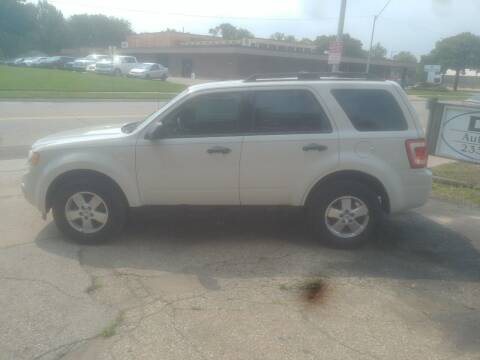 2011 Ford Escape for sale at D & D Auto Sales in Topeka KS