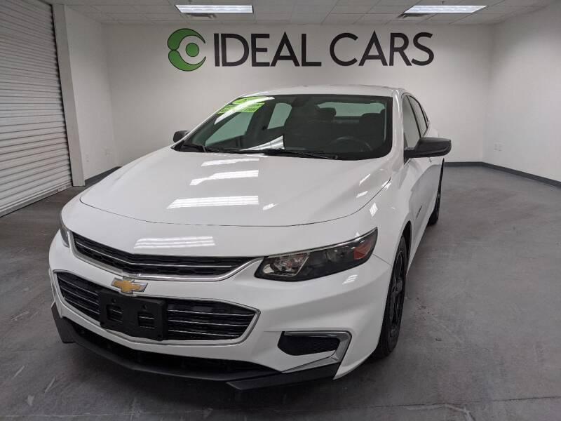 2017 Chevrolet Malibu for sale at Ideal Cars Atlas in Mesa AZ