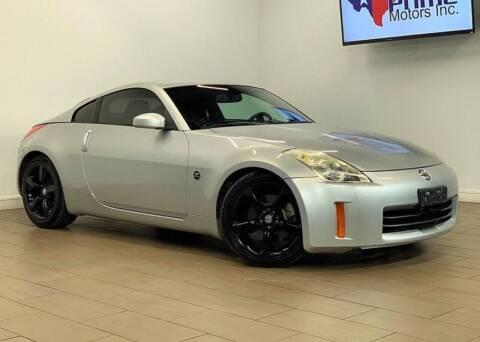 2006 Nissan 350Z for sale at Texas Prime Motors in Houston TX