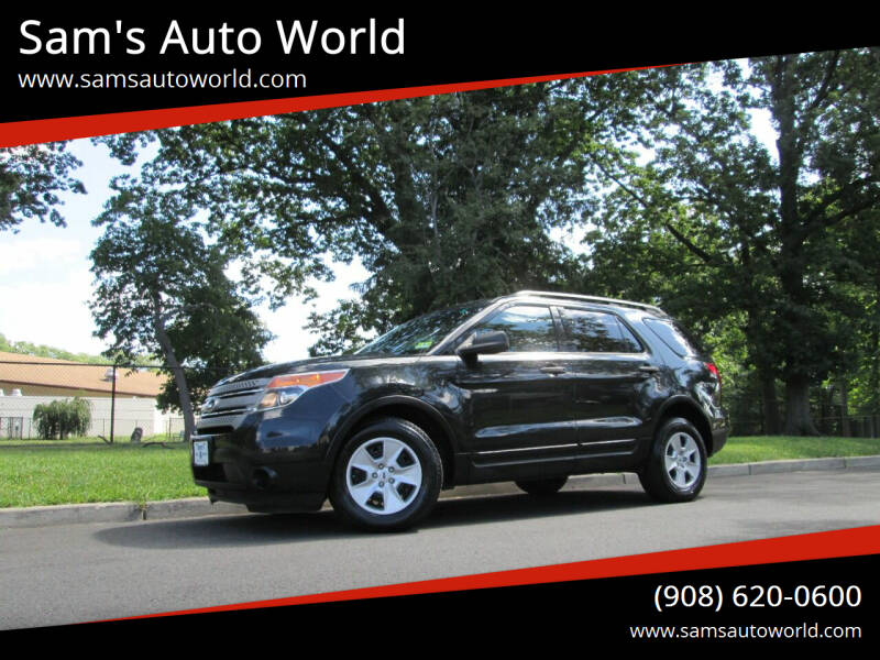 2014 Ford Explorer for sale at Sam's Auto World in Roselle NJ