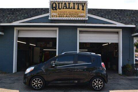 2014 Chevrolet Spark for sale at Quality Pre-Owned Automotive in Cuba MO