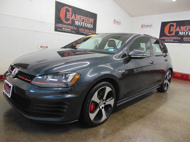 2017 Volkswagen Golf GTI for sale at Champion Motors in Amherst NH