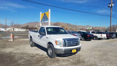 2012 Ford F-150 for sale at Auto Depot in Carson City NV