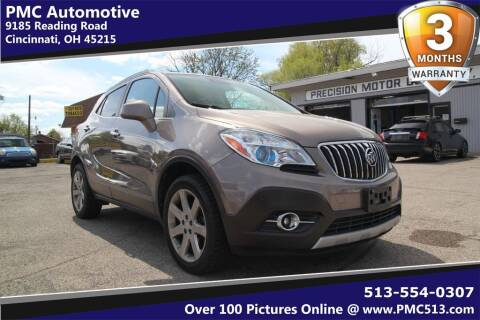 2013 Buick Encore for sale at PMC Automotive in Cincinnati OH