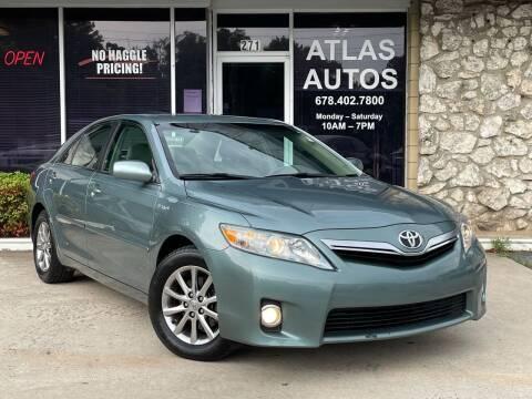 2011 Toyota Camry Hybrid for sale at ATLAS AUTOS in Marietta GA