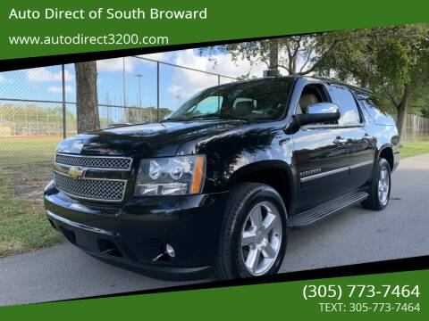 2013 Chevrolet Suburban for sale at Auto Direct of South Broward in Miramar FL