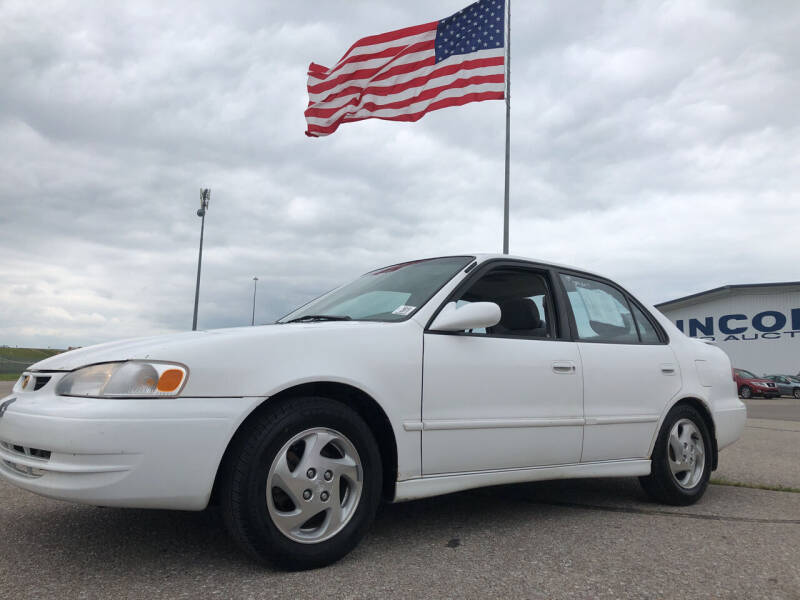 2000 Toyota Corolla for sale at Sonny Gerber Auto Sales in Omaha NE
