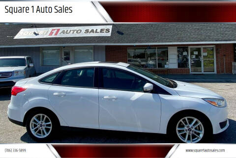 2016 Ford Focus for sale at Square 1 Auto Sales - Commerce in Commerce GA