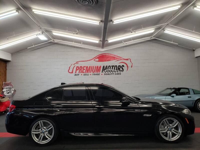 2016 BMW 5 Series for sale at Premium Motors in Villa Park IL